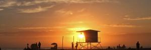 rosarito beach sunset baja