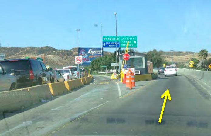 San Ysidro Tijuana Ready Lane Border Crossing Directions Baja