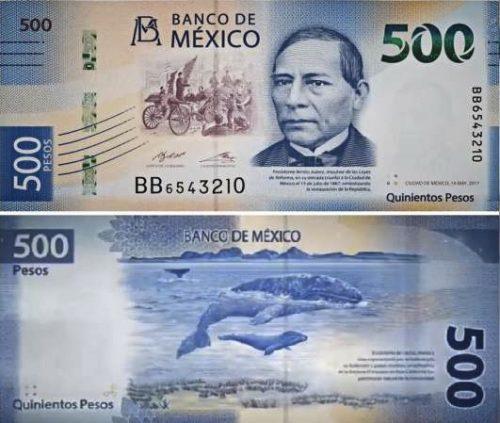 500 pesos new