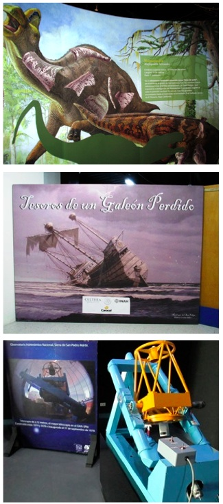 Caracol Museum Ensenada Exhibits 2