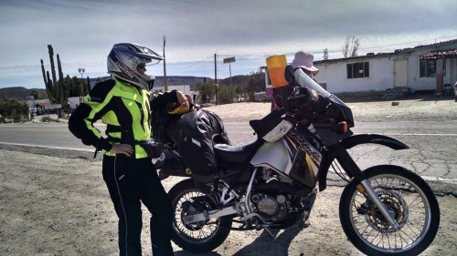 Motorcycling solo in Baja