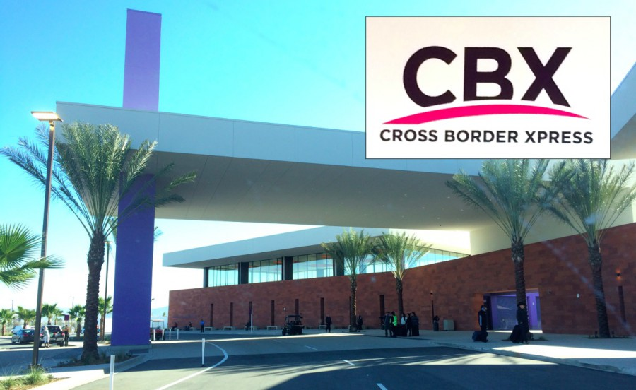 Cross Border Xpress CBX airport bridge San Diego Tijuana
