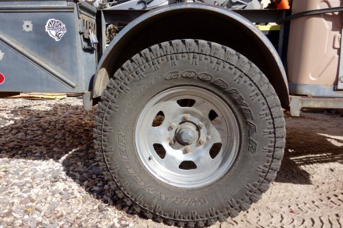 motorcycling baja, trailer tires