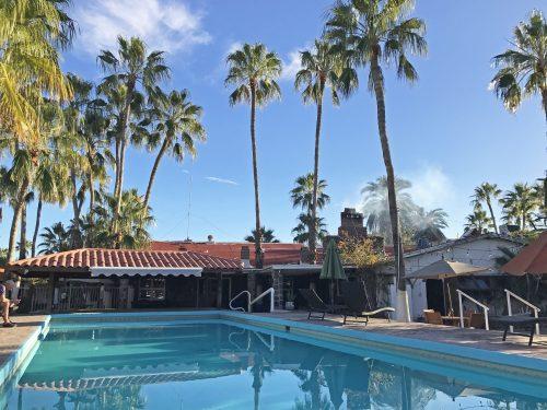 hotel serenidad pool