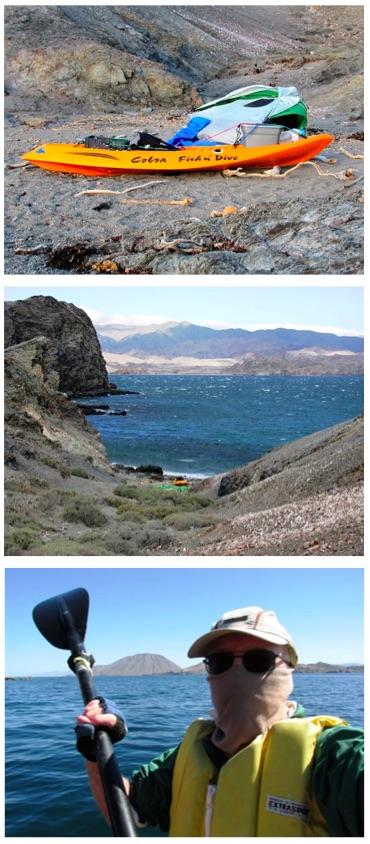 Kayaking Smith Island Graham Mackintosh collage