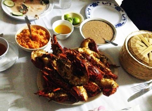 Lobster Puerto Nuevo Baja Mexico