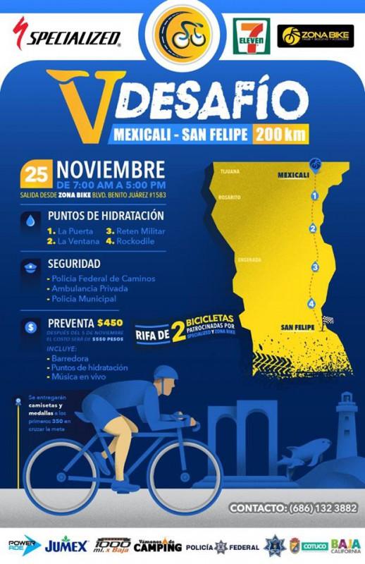 Mexicali San Felipe Bike Ride Race