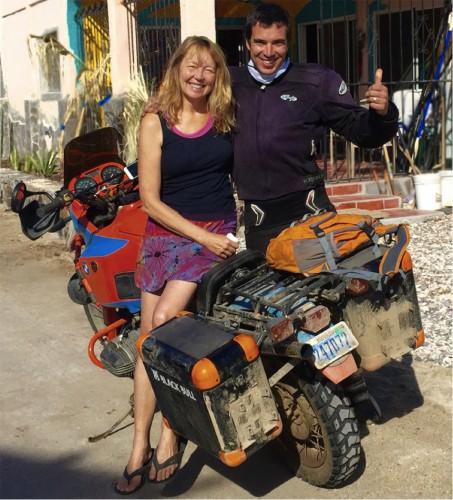 Motorcycle Baja 1