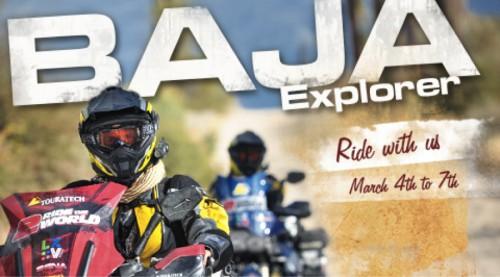 Motorcycle Baja 2