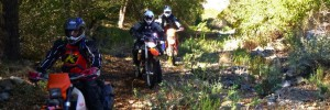 Motorcycle Baja