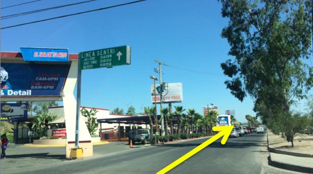 Otay Mesa SENTRI Directions 9