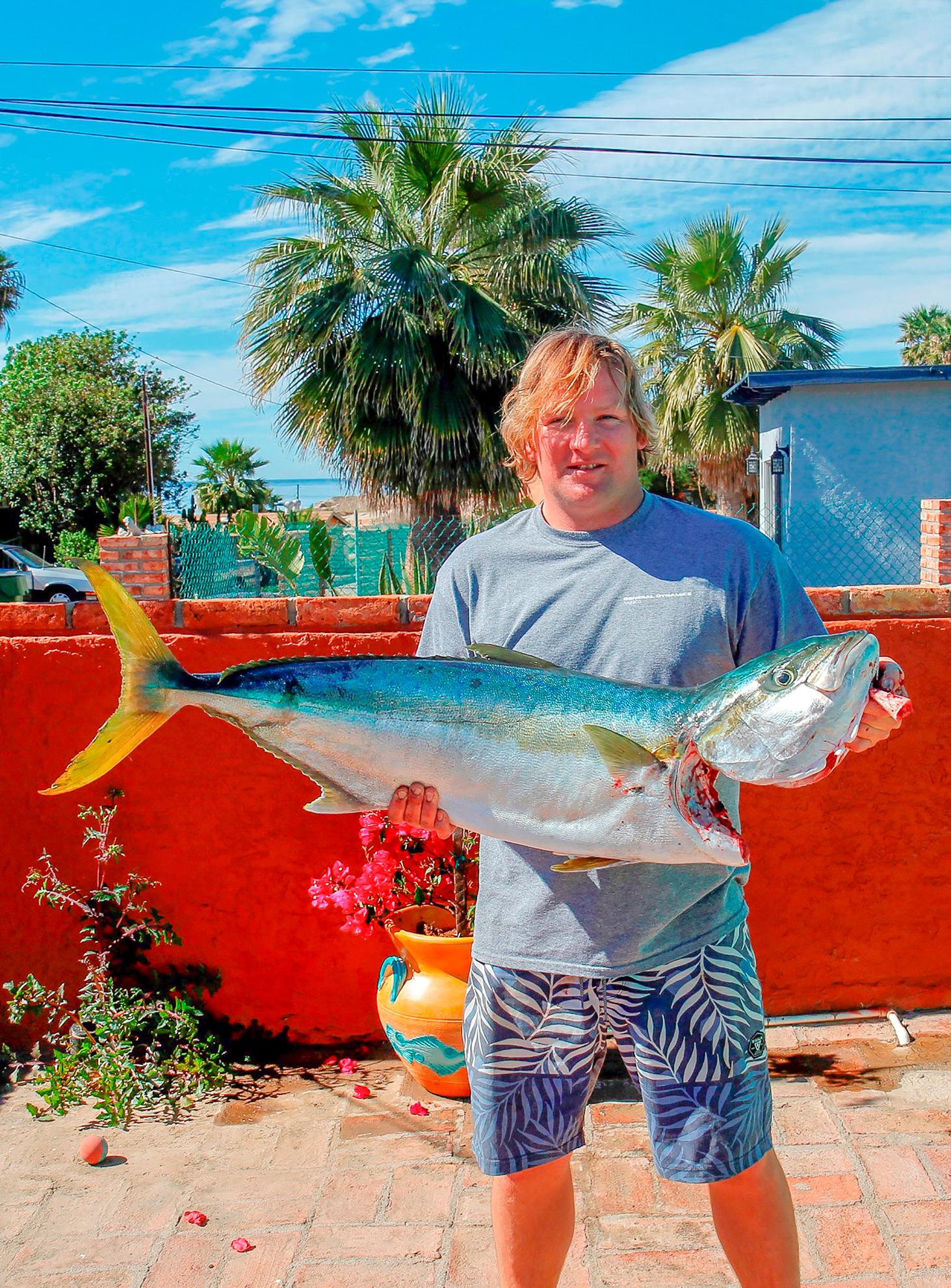 November 2017 baja fishing report for Fishing in november