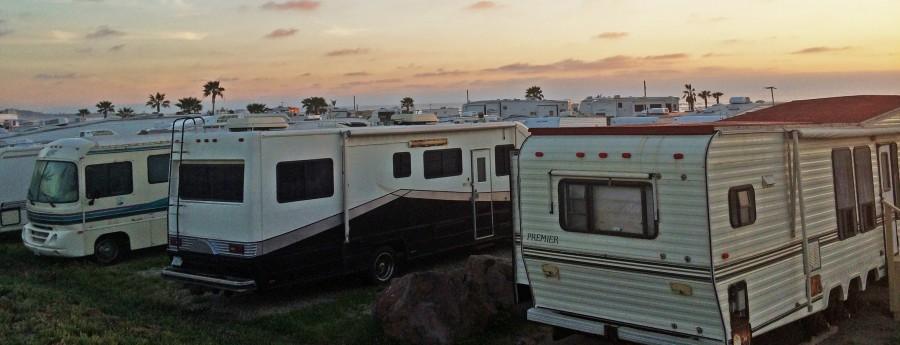 RV and Motorhome Travel in Baja