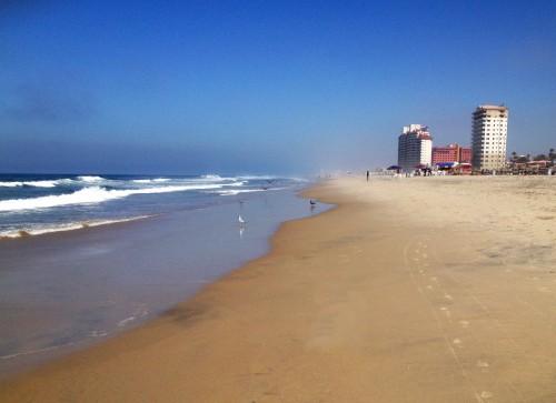 Playas de Rosarito beach Baja Mexico