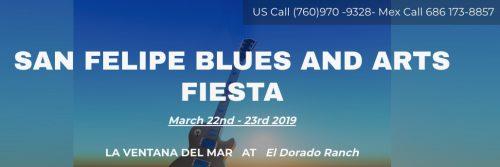 San Felipe Blues and Arts Fiesta 2019