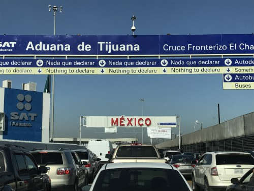 San Ysidro El Chaparral border closure
