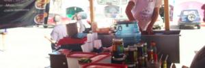 La Guerrerense foodcart Ensenada, Baja