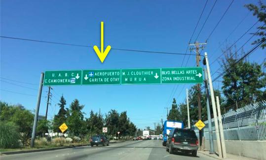 Otay Mesa border directions