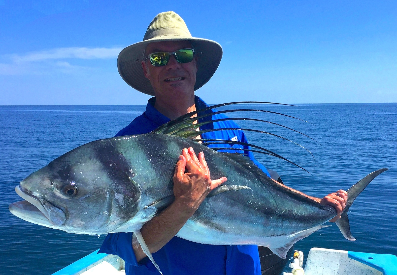 October baja fishing report for Mexico fishing license