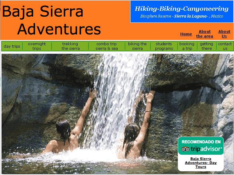 Baja Sierra Adventures Hiking and Biking