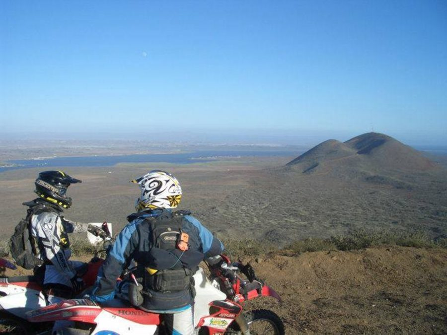 Discover Baja Bound Moto Tours dual-sport off-road Carla King