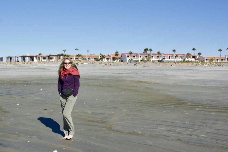 Carla King Beach San Quintin