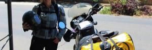Carla King, KLR Motorcycle, Packing