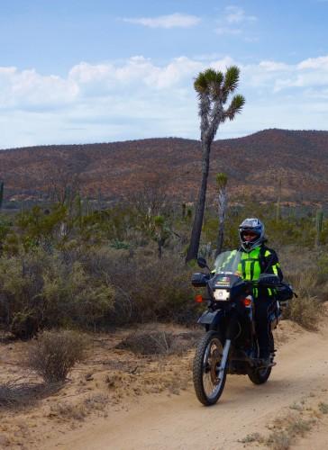 carla-riding-backroad