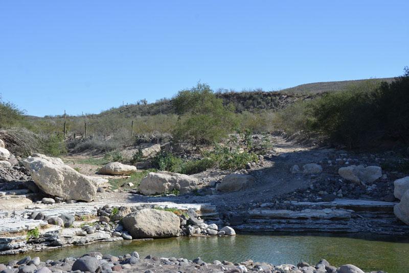 San Juanico East Road water crossing