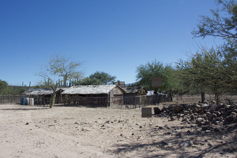 A ranchita on the KM 61 road