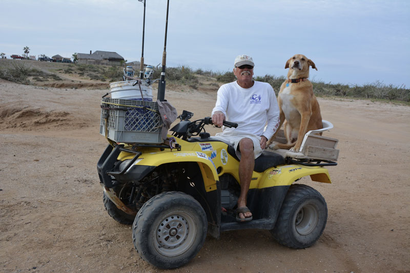 Bill and Gus in San Juanico