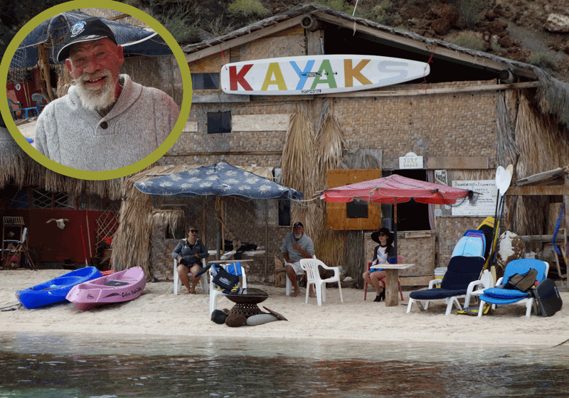 Eduardo's at Playa El Burro, Bahia Concepcion, Photo by Carla King