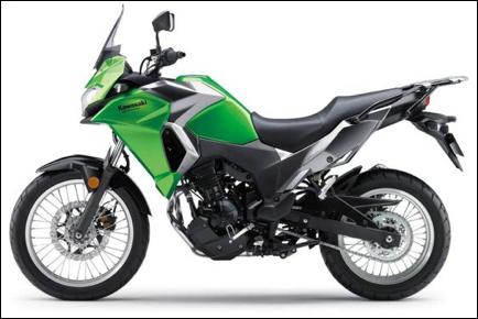 Kawasaki Versys 300cc adventure motorcycle