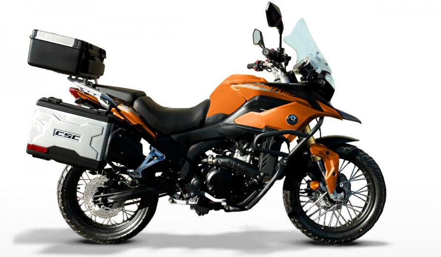 CSC RX3 250cc Adventure Motorcycle.