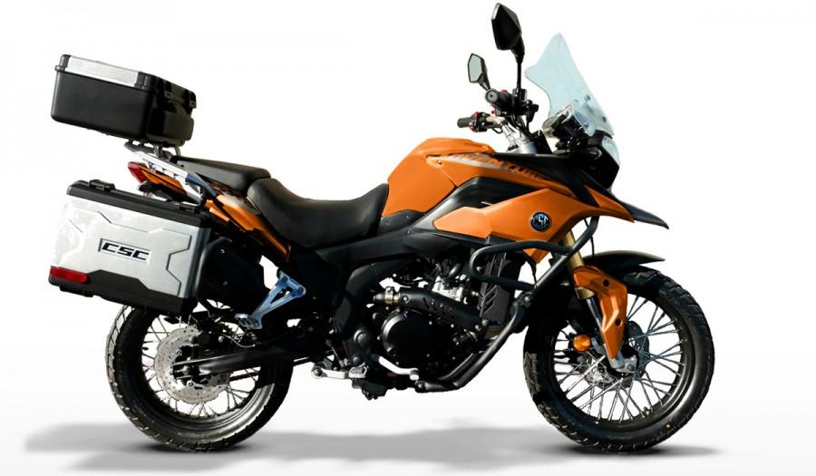 CSC RX3 250cc Adventure Motorcycle.