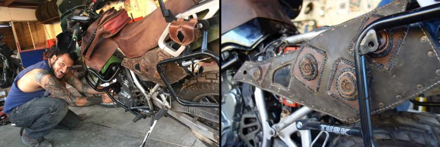 KLR repair in Baja