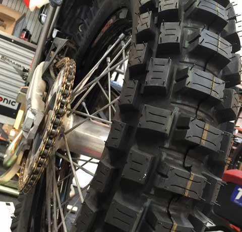 baja motorcycle motoztire