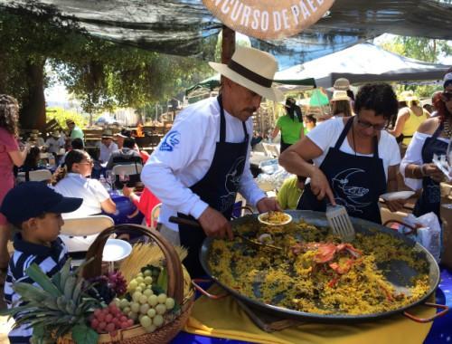 Vendimia concurso de paella fest - valle de guadalupe